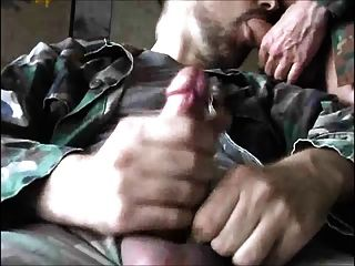 Two Big Dick Amateurs Sucking Stroking And Cumming