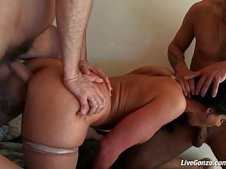 Livegonzo Phoenix Marie Hardcore Dp Threesome Action