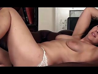 Fingering Her Hairy Pussy To Nice Orgasm