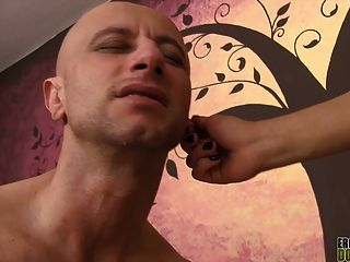 Ear Pulling And Armpit Smothering Are Two Tools This Hot Dom