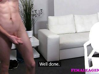Femaleagent Skinny Stud Meets Experienced Milf