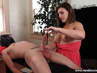 Milf shanda fay has a dirty story to tell amp plays with toy