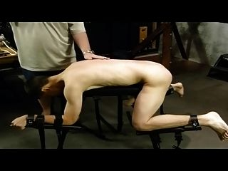 Bdsm Bondage Gay Boy Is Whipped And Milked
