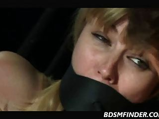 Shaved Blonde Milf With Big Tits Dominated
