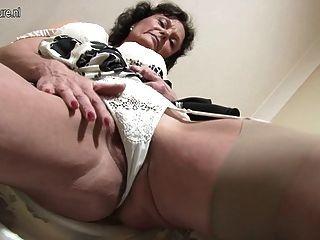 Sexy 51yo Jacklin Needs A Good Fuck