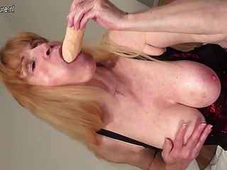 Amateur Grandmother Squirting Like A Whore