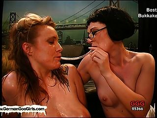 Compilation Of The Best Bukkake Whores Getting Creamed