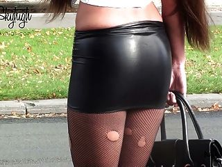 British punk chick zara du rose fucked in tight spandex 2