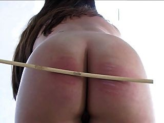 Plumper Girl Naked Caning