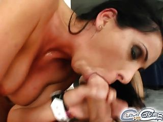 Lisa Sparkle Gets Five Dicks Five Cumshots