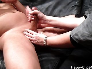 My Stepmom Oil Cock Massage, And Jerkoff Video