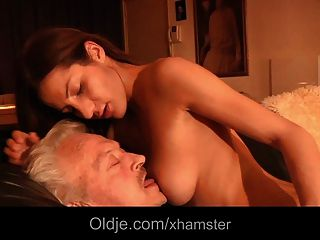Grandpa Fucks Young Alice In Her Ass