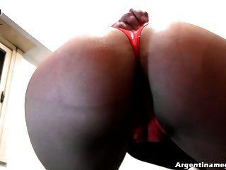 Best Latin Amateur Ass Ever! Hot Big Round Ass And Cameltoe