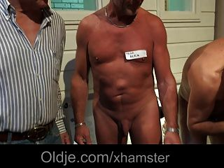 5 Old Men Gang Bang Nasty Young Blonde Nurse