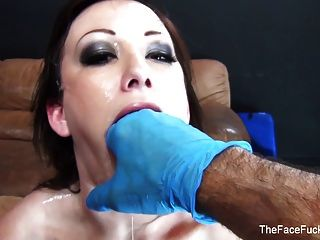 Jennifer Sucks His Cock And Balls