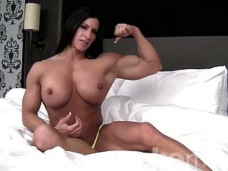 angie flex nude
