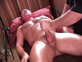 Intense Orgasm From Handjob
