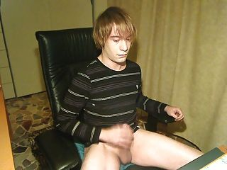 Young Emo Boy First Ejaculation