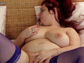 Big Breasted Mature Mother Going Wild