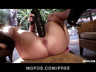 Mofos - Cute Petite Blond Kelly Surfer Rides Her New Toy