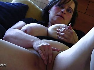 Busty Old Mother Dreaming Of Young Cock