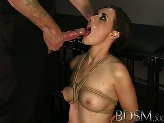 Bdsm Xxx Bound Up Teens Get A Good Hard Face Fucking