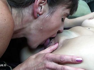 Mom Next Door And Her Young Lesbian Lover