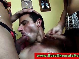 Shemale Throatfuck 26