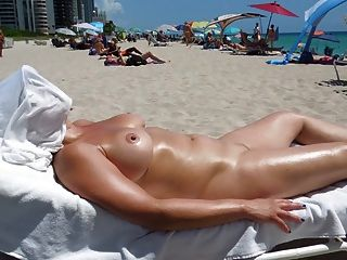 Perfect Boobs On Nude Beach