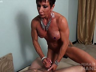 Whitney wonders muscular threesome 7