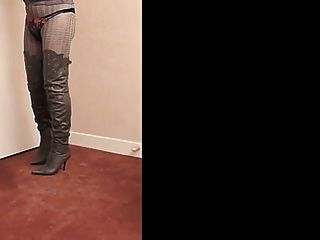 Nadine Cd Thighboots, High Heels And Lingerie