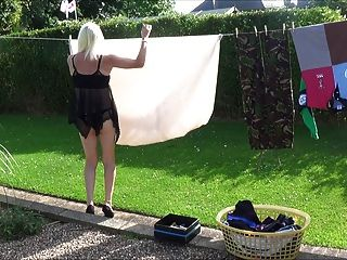 Gettin In The Washing