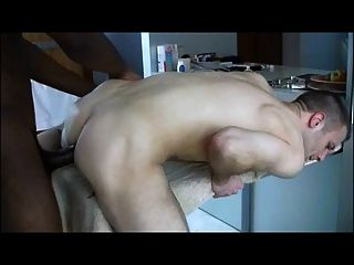 Two Big Cock Bareback Scenes Gaping Some Twink Ass