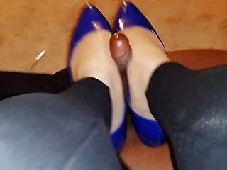 Pantyhose And Flats Bbc Footjob Shoejob Long Version