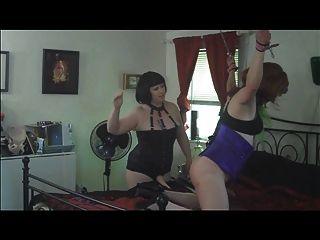 Neck collared slave velma dearmond fucked hard by a big cock - 1 part 8