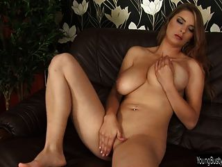 Busty Young Kathy Fuck Huge Toy