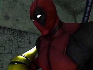 Rogue Vs Deadpool