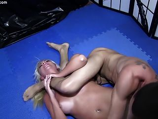 Girls Grappling Sexual Domination Wrestling