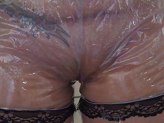 Dirty Girl Pvc Panty Wetting