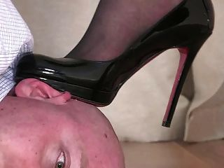 Shoe domination video about
