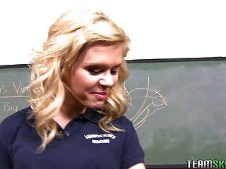 Innocenthigh Blonde School Girl Teen Elizabeth Bentley Class