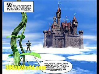 Jack & Beanstalk 3dgay Cartoon Comic Gay Famous Fairy Tale