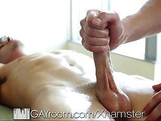 Gayroom Sensual Massage Turns Into Hot Sex