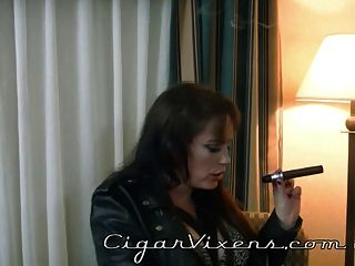 Aquarius smokes a cigar 3