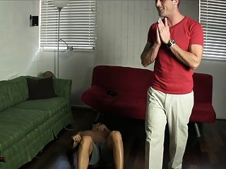 Young Neighbor Foot Slave Foot Fetish Tickling Edging