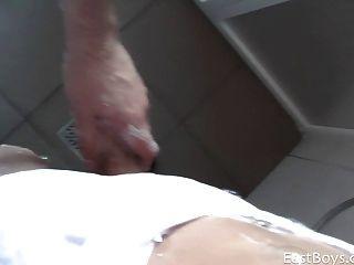 Handjob In A Public Showers