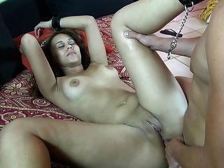 Bondaged Latina Hardly Fucked In Ass!