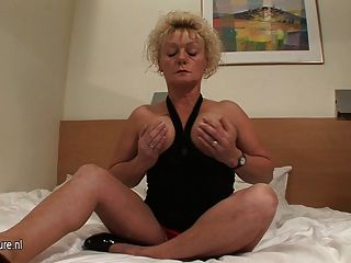 Mature Wet Cunt Needs A Hard Cock