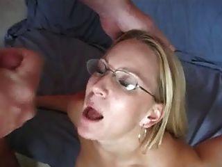 Cum On My Glasses Compilation