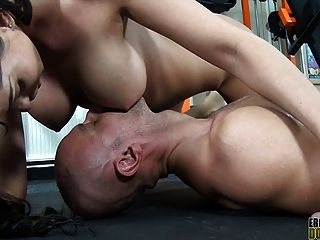 Busty Mistress Rewards Her Slave With A Slow Pov Titjob